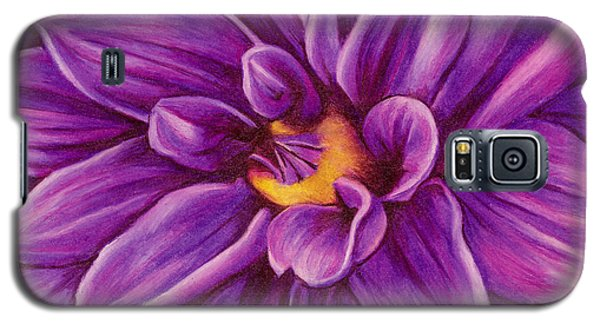 Pencil Dahlia Galaxy S5 Case
