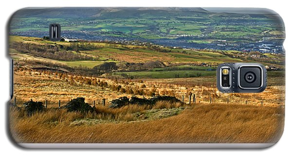Galaxy S5 Case featuring the photograph Pendle Hill Lancashire by Jane McIlroy