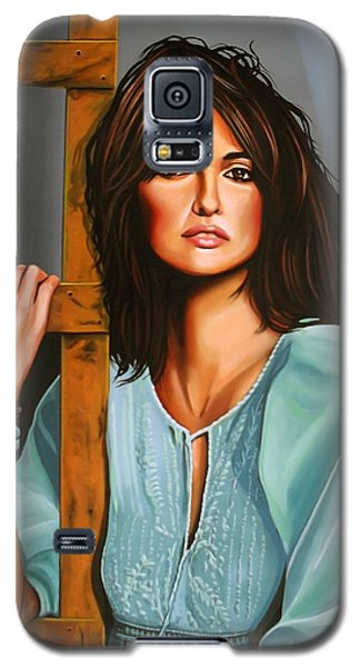 Penelope Cruz Galaxy S5 Case by Paul Meijering