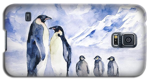 Penguin Family Galaxy S5 Case by Faruk Koksal