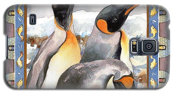 Penguin Family Portrait Galaxy S5 Case