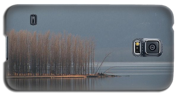 Peninsula Of Trees Galaxy S5 Case by Leone Lund