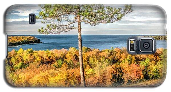 Peninsula State Park Scenic Overlook Panorama Galaxy S5 Case