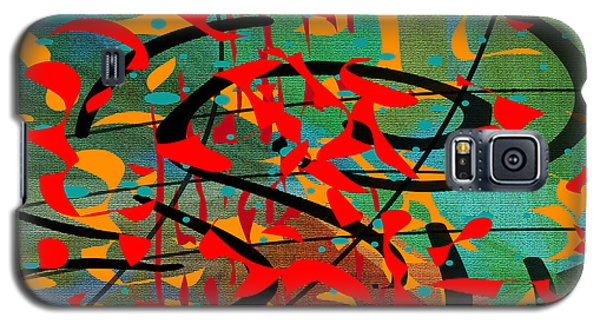 Galaxy S5 Case featuring the painting Penman Original - 106 by Andrew Penman
