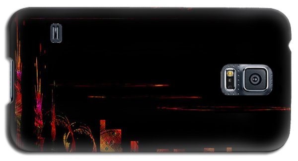 Galaxy S5 Case featuring the painting Penman Original - 2 by Andrew Penman