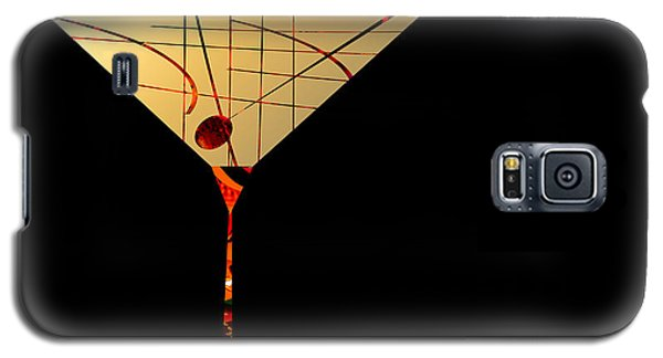 Galaxy S5 Case featuring the painting Penman Original - Waiting by Andrew Penman