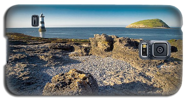 Penmon Lighthouse And Puffin Island Galaxy S5 Case