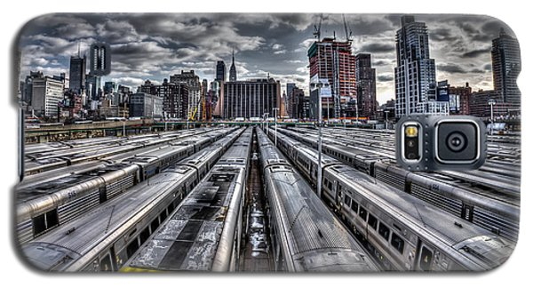 Penn Station Train Yard Galaxy S5 Case