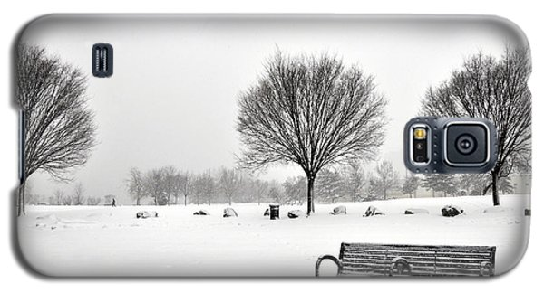 Penn Treaty Park Bench Galaxy S5 Case