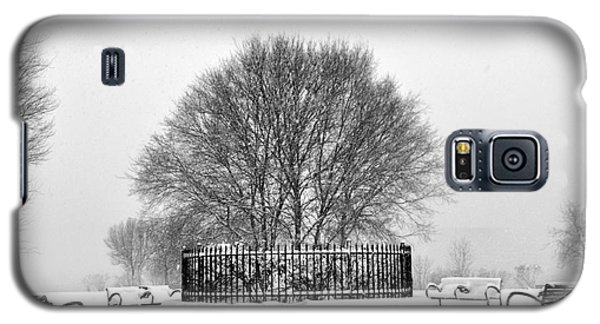 Penn Treaty Park Circle Galaxy S5 Case