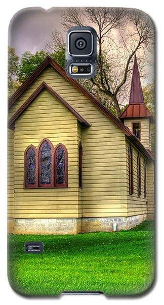 Pennsylvania Country Churches - Heckton Church At Fort Hunter Autumn - Dauphin County Galaxy S5 Case