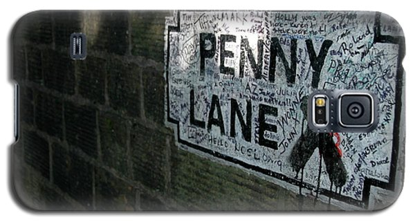 Galaxy S5 Case featuring the photograph Penny Lane by Jonah  Anderson