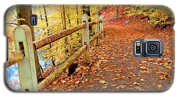 Pennypack Trail Philadelphia Fall Galaxy S5 Case by A Gurmankin