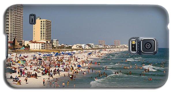Pensacola Beach Tourists Galaxy S5 Case