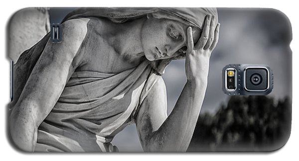 Pensive Angel At Heredia Cemetery Galaxy S5 Case
