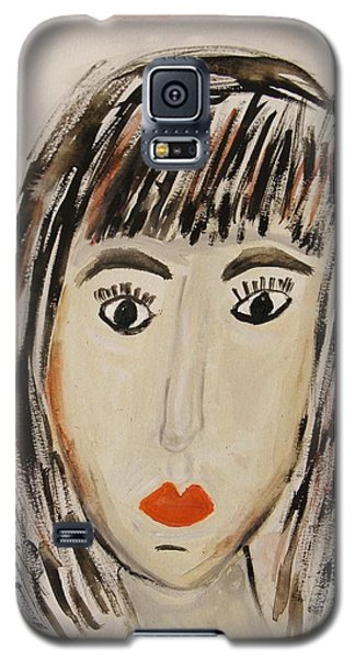 Pensive M.  Galaxy S5 Case by Mary Carol Williams