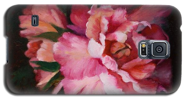 Peonies No 8 The Painting Galaxy S5 Case