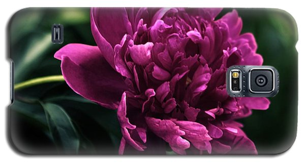 Galaxy S5 Case featuring the photograph Peony 2014 by Marjorie Imbeau