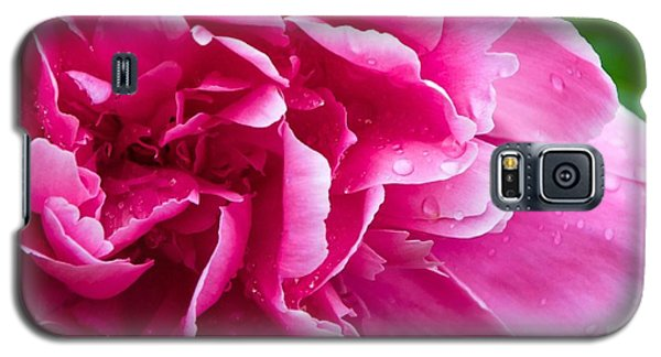 Peony After The Rain Galaxy S5 Case