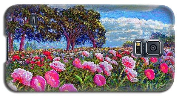 Impressionism Galaxy S5 Case - Peony Heaven by Jane Small