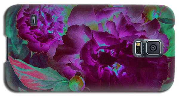 Peony Passion Galaxy S5 Case by First Star Art