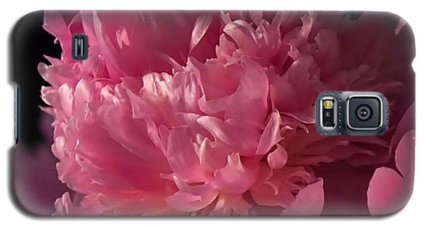 Peony Galaxy S5 Case by Rona Black