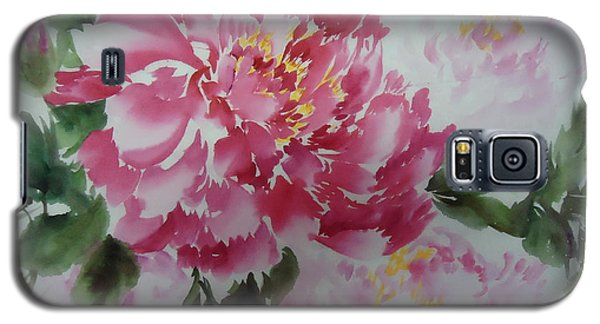 Peony8-01252012 Galaxy S5 Case by Dongling Sun