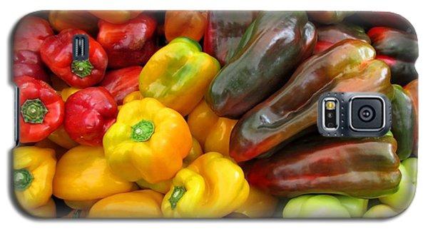Pepper Rainbow Galaxy S5 Case by Brenda Pressnall