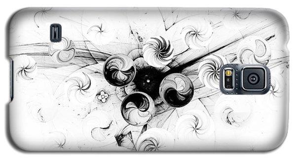 Galaxy S5 Case featuring the digital art Peppermint Dream 2 by Arlene Sundby