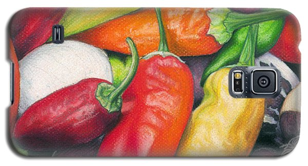 Peppers And Onions Galaxy S5 Case