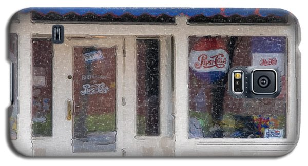 Pepsi Cola Birthplace Watercolor Galaxy S5 Case