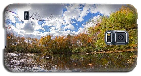 Pequotsepos Duck Pond Reflection   Galaxy S5 Case