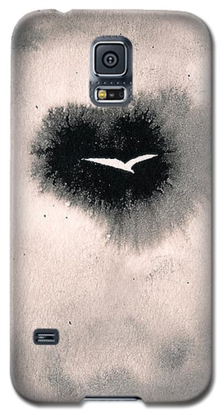 Galaxy S5 Case featuring the painting Perce-brumes by Marc Philippe Joly