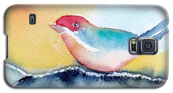 Galaxy S5 Case featuring the painting Perching by Anne Duke