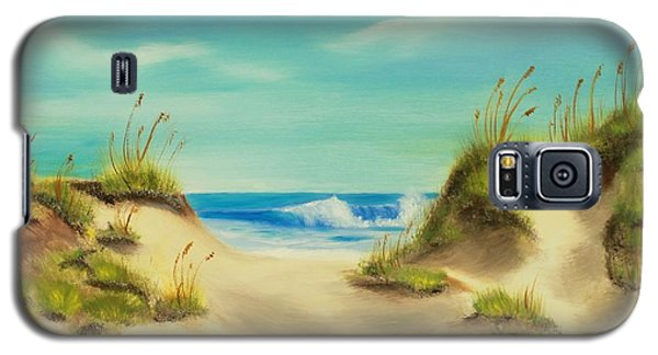 Perfect Beach Day Galaxy S5 Case