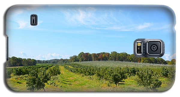 Perfect Fall Day On Alstede Farm Galaxy S5 Case