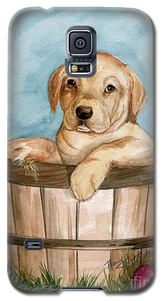 Galaxy S5 Case featuring the painting Perfect Fit by Nancy Patterson
