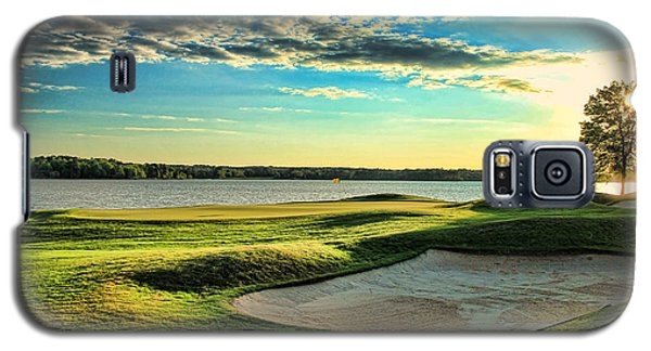 Perfect Golf Sunset Galaxy S5 Case