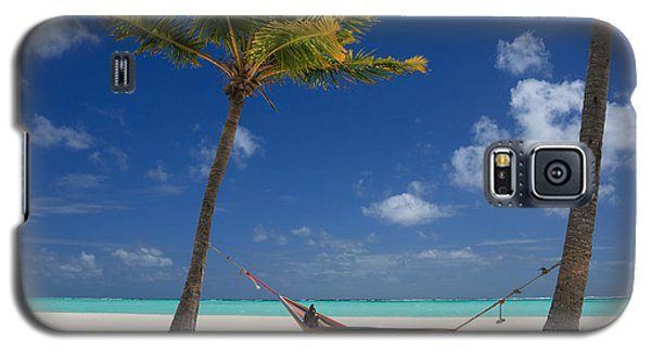 Galaxy S5 Case featuring the photograph Perfect Tropical Beach by Karen Lee Ensley