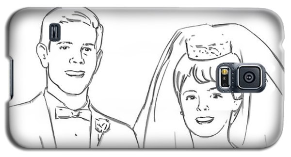 Galaxy S5 Case featuring the drawing Perfect Wedding by Olimpia - Hinamatsuri Barbu