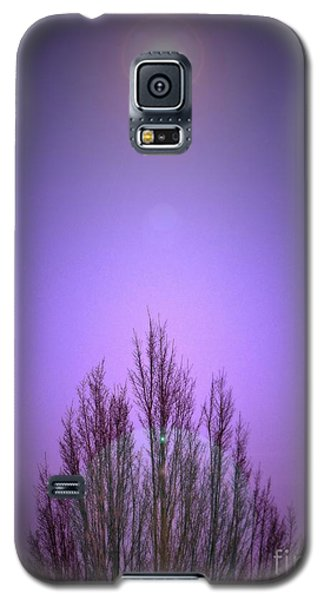 Galaxy S5 Case featuring the photograph Perfectly Purple by Chris Anderson