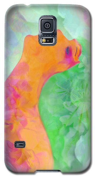 Galaxy S5 Case featuring the digital art Perfume Of Love by Martina  Rathgens