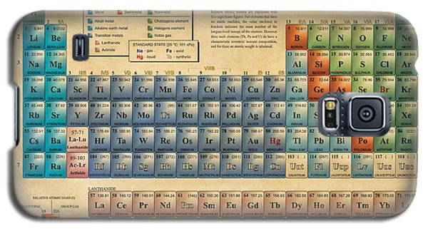 Periodic Table Of The Elements Galaxy S5 Case by Olga Hamilton