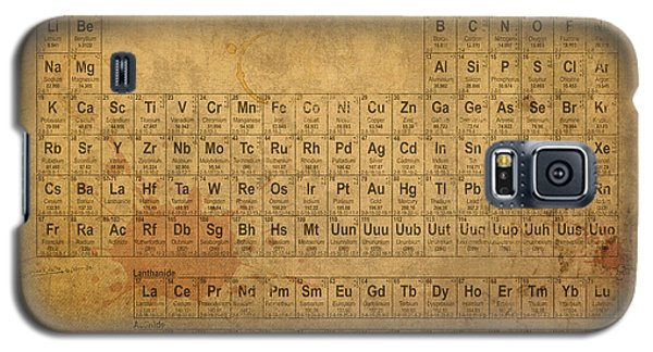 Periodic Table Of The Elements Galaxy S5 Case by Design Turnpike