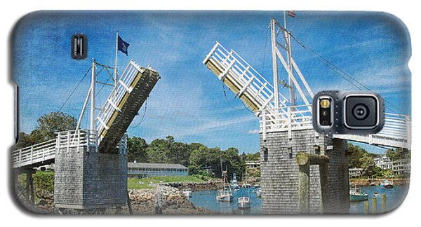 Perkins Cove Drawbridge Textured Galaxy S5 Case