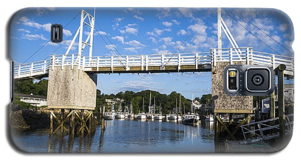 Perkins Cove - Maine Galaxy S5 Case by Steven Ralser
