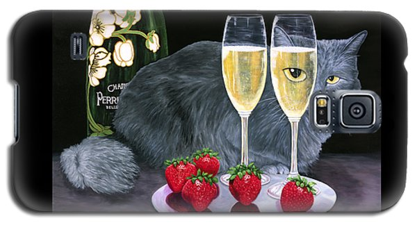Perrier Jouet Et Le Chat Galaxy S5 Case