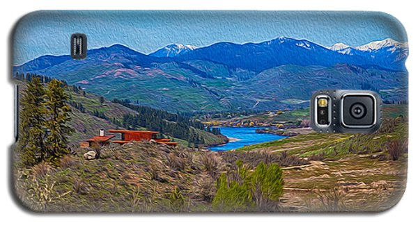Perrygin Lake In The Methow Valley Landscape Art Galaxy S5 Case