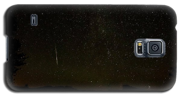 Perseid 2014 Washburn Point Yosemite Galaxy S5 Case
