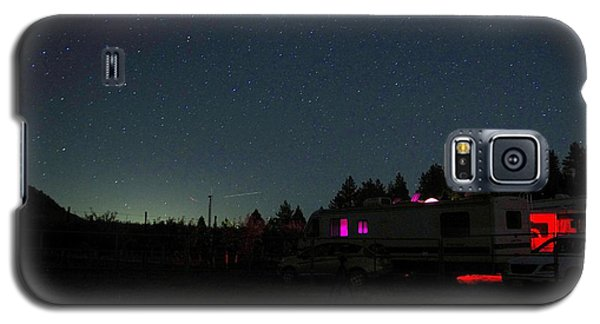 Perseid Meteor-julian Night Lights Galaxy S5 Case